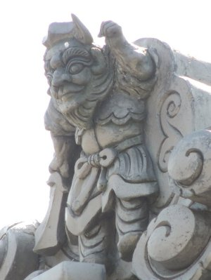 伊賀市小杉の鍾馗さん