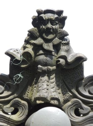 伊賀市西高倉の鍾馗さん