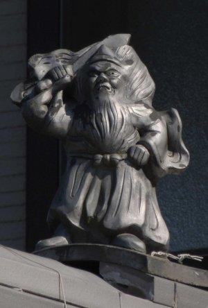 大垣市青野町の鍾馗さん