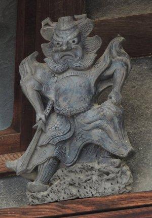 河南町寛弘寺の鍾馗さん