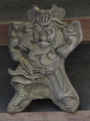 千早赤阪村二河原辺の鍾馗さん