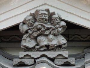 富田林市佐備の三連鍾馗さん