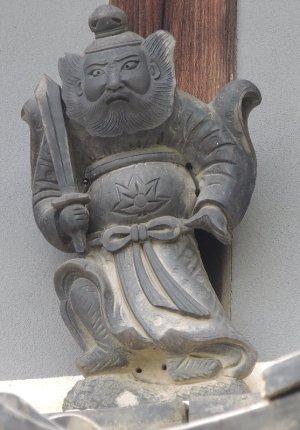 橋本市柱本の鍾馗さん