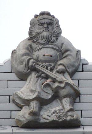阪南市箱作の鍾馗さん