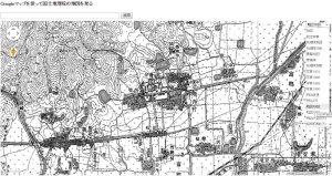 法隆寺_地図1920