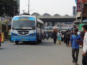 バンガロール BMTCバス