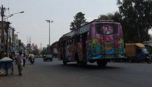バンガロール 謎のバス