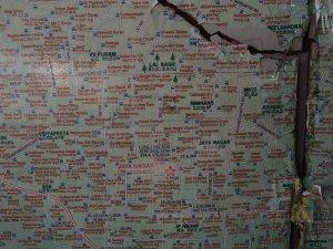 バンガロール バスルートマップ