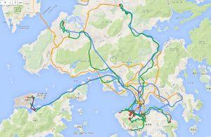 香港での足跡
