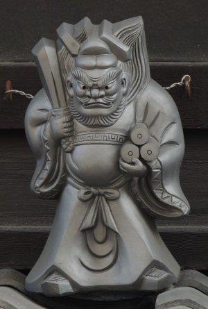 中京区六角通の鍾馗さん
