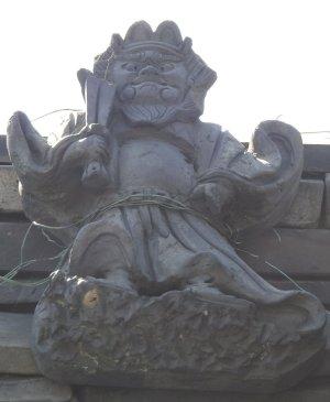 田原本町満田の鍾馗さん