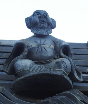 近江八幡市長光寺町の鍾馗さん
