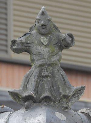 伊賀市下神戸の鍾馗さん