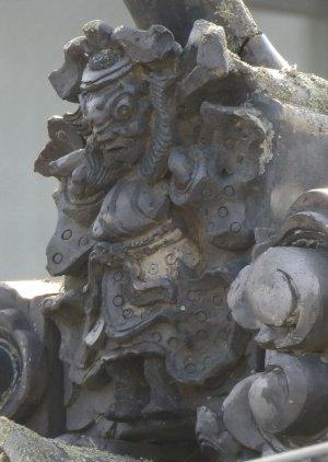 松本市里山辺の鍾馗さん
