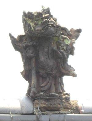 松本四賀中川の鍾馗さん
