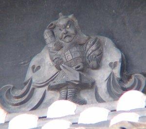橿原市古川町(再確認)の鍾馗さん 2005年