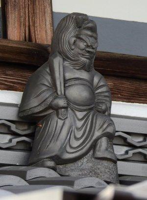 葛城市笛堂の鍾馗さん